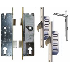 Cobra 2 Hook, French Door Lock, Lever Operated, 92pz
