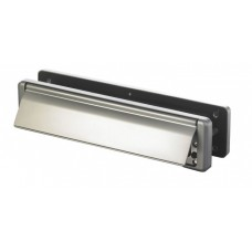 310 X 76mm Nu Mail Chrome Letterbox
