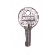 Large Cylinder Window Handle Key