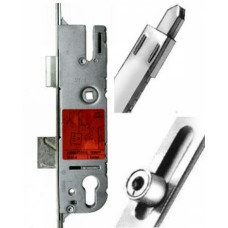 G4 French Door Lock, 2 Rollers  (with Integral bottom shootbolt) 92pz Lever-Op